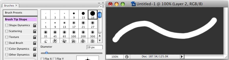 The (hidden) power of Photoshop brush tool - Step 1