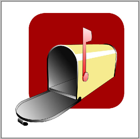 Illustration of a Mailbox in Photoshop