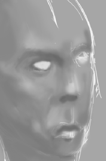 An art tutorial on face studying