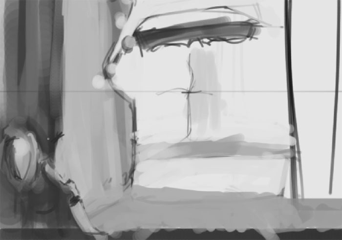 The basics of environment sketching