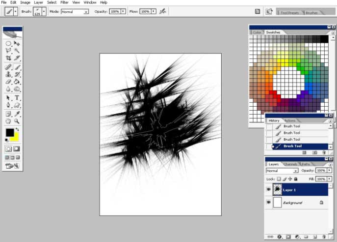 Custom brushes in digital media world