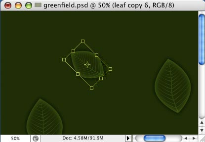 Green Field - making of - Step 10