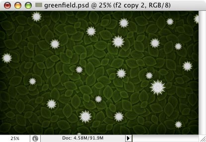 Green Field - making of - Step 24