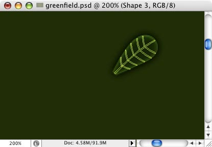 Green Field - making of - Step 31
