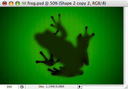Frog - making of - Step 13