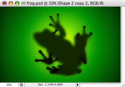 Frog - making of - Step 14