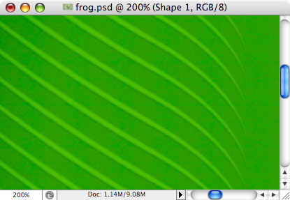 Frog - making of - Step 8