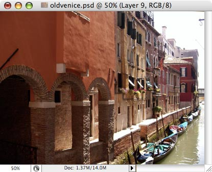 Old Venice - making of - Step 7