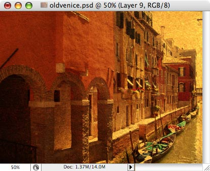 Old Venice - making of - Step 8