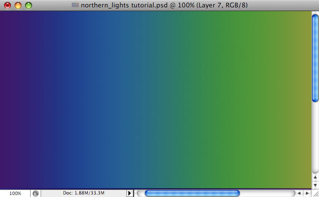 Design a colorful Northern Lights landscape - Step 18