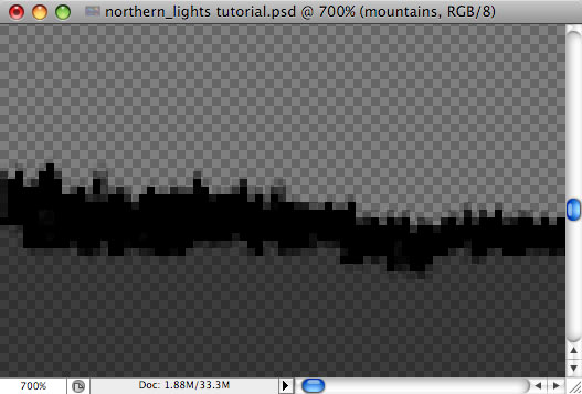Design a colorful Northern Lights landscape - Step 3