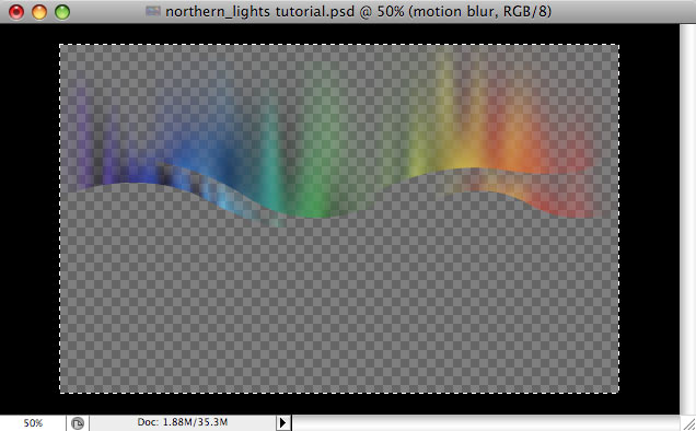 Design a colorful Northern Lights landscape - Step 32