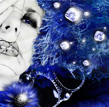 Snow Queen photo effect in adobe photoshop cs
