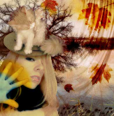Autumn photo effects in adobe Photoshop cs