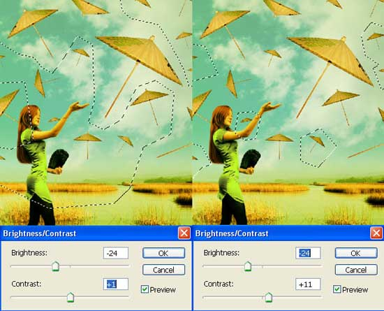 Sovereighn of Umbrellas in adobe Photoshop  cs2