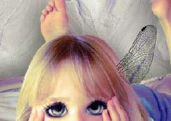 The little fairy photo effects in adobe Photoshop cs