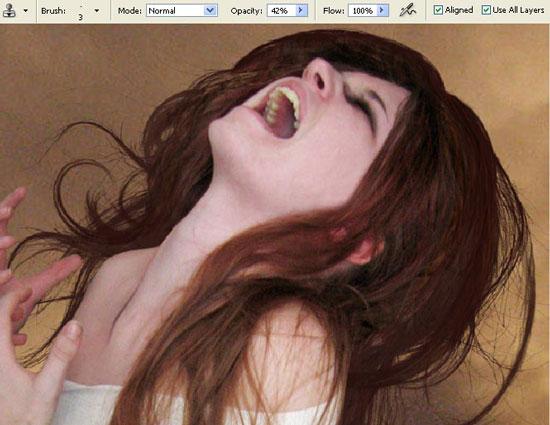 the scream photo effects
