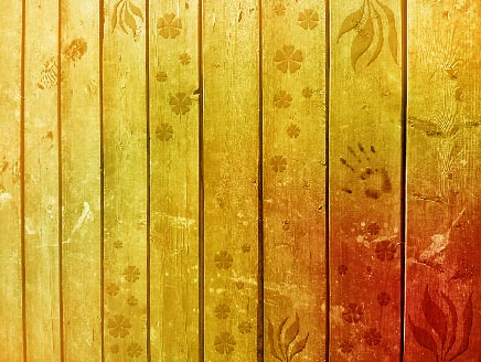 Spring Planks Wallpaper