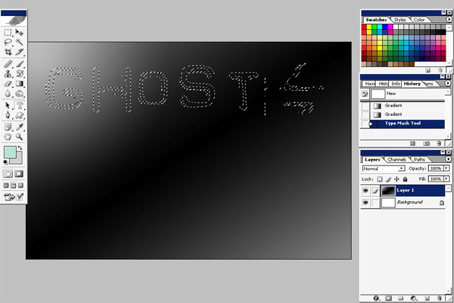 Ghost Text Effects