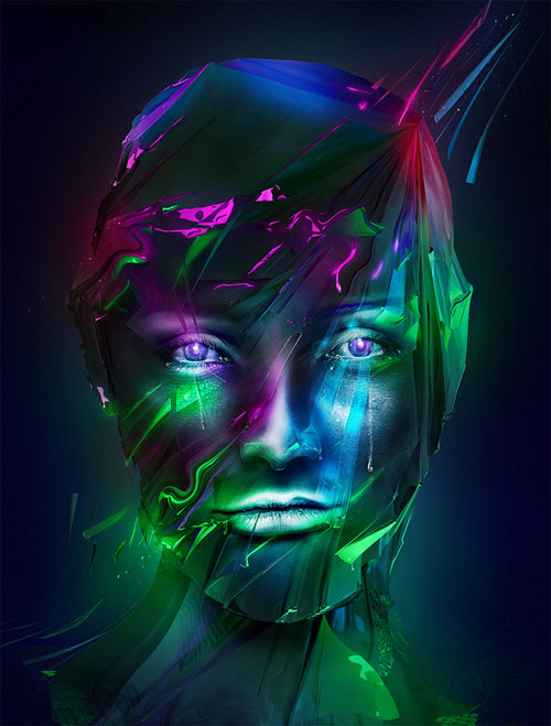 Eye Stunning Digital Art by Adam Spizak