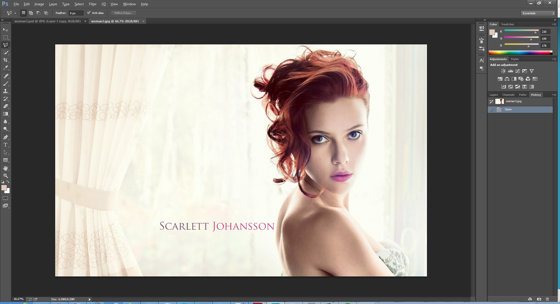 Dispersion effect with photoshop cs6cc photoshop tutorials getting started baditri Gallery