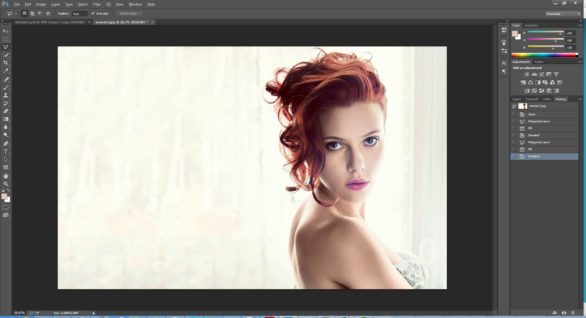 Dispersion Effect with Photoshop CS6/CC | Photoshop ...
