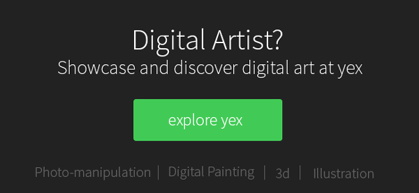 Showcase and discover digital art at yex